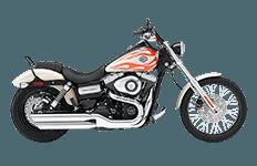 Harley Dyna Wild Glide Bags