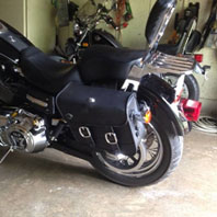 Harley Dyna Superglide Saddlebags