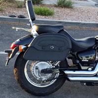 Honda Shadow Warrior Saddlebags