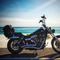 Fred's '12 Harley-Davidson Dyna Wide Glide w/ Sissy Bar Bags