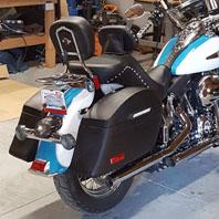Qary's Harley Softail Heritage