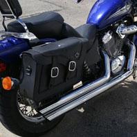 Gene's Leather Saddlebags