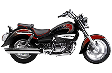 Hyosung GV250 Aquila Saddlebags