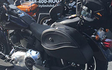 JB's 2014 Kawasaki Vulcan w/ Ultimate Shape Motorcycle Bag