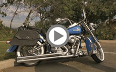 Gerry's 1998 Suzuki Marauder Bags Review
