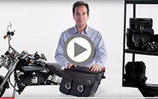 Suzuki boulevard Motorcycle Bags Manufacturer Video 1