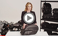 Suzuki boulevard Motorcycle Bags Manufacturer Video 4