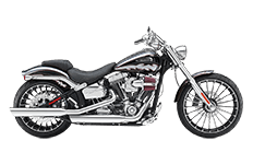 Harlet Softail Breakout Saddlebags