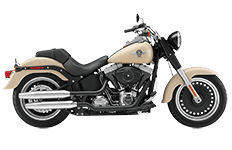 Softail Fat Boy Lo Saddlebags