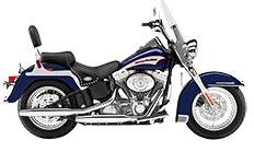 Softail Heritage FLSTC Saddlebags