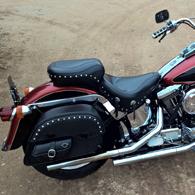 Harley-Davidson Softail Heritage w/ Side Pocket Motorcycle Saddlebags