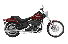 Softail Night Train FXSTB Saddlebags