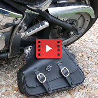 Harley-Davidson Sportster Motorcycle Swing Arm Bag Review