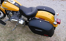 William's '08 Harley-Davidson Dyna Wide Glide Custom w/ Motorcycle Saddlebags