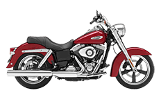 Harley Dyna Switchback Motorcycle Saddlebags