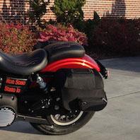 Harley Davidson Dyna Motorcycle Saddlebags