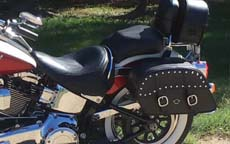 Todd's '13 Harley-Davidson Softail Deluxe w/ Motorcycle Saddlebags
