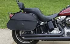 Charles' '07 Harley-Davidson Softail w/ Motorcycle Saddlebags
