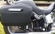 John's '01 Harley-Davidson Softail Deuce w/ Motorcycle Saddlebags