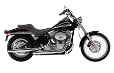 Softail Standard FXST Saddlebags