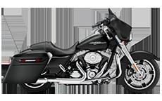 Harley Street Glide Motorcycle Saddlebags