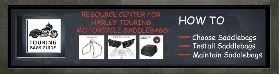 Harley-Davidson Touring Bags Guide