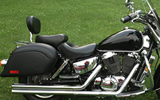 William Duke Sr's '02 Honda Shadow w/ Lamellar Hard Bags