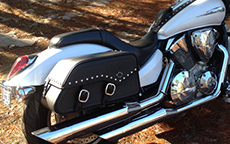 Tom Smith's Honda Motorcycle Saddlebags