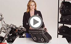Honda Shadow Concord Studded Motorcycle Saddlebag Review
