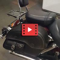 Honda Shadow VT750 Motorcycle Saddlebags Review
