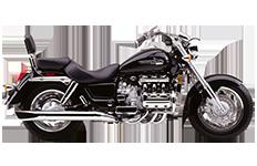 Honda 1500 Valkyrie Standard Saddlebags