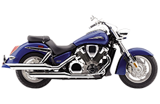 Honda VTX1800 R Retro Saddlebags