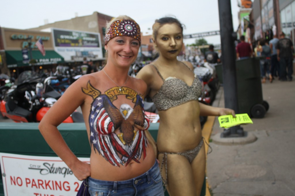 Consider, that Bike week naked nude girl