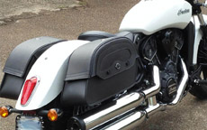 Roger's Indian Scout 60 w/ Warrior Series Saddlebags