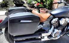 Philliphine's Indian Scout w/ Lamellar Hard Saddlebags