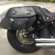 Harley Softail Saddlebags