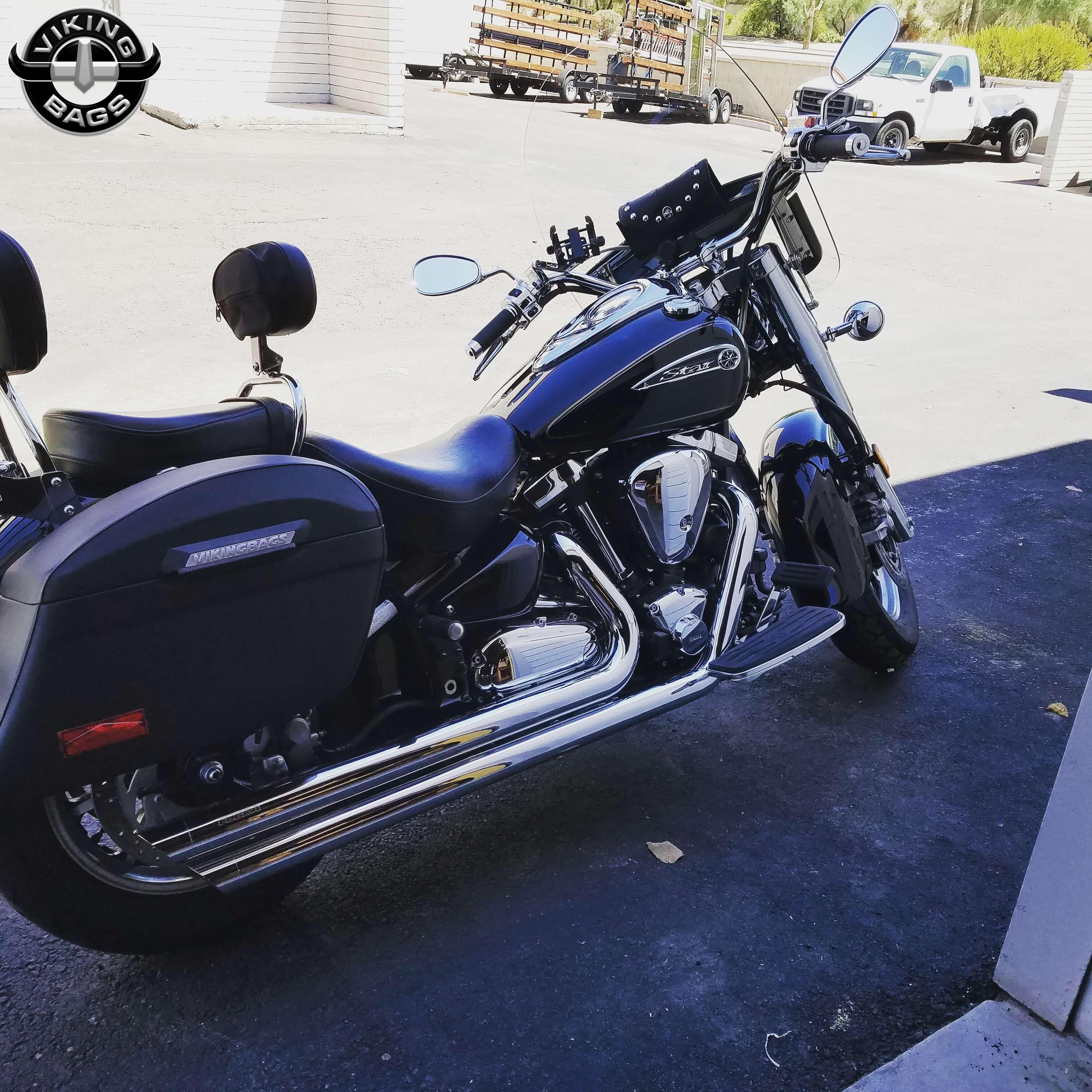 ... Motorcycle Saddlebags · Jeff's 12 Yamaha Road Star 1700 w/ Lamellar  Hard Saddlebags ...