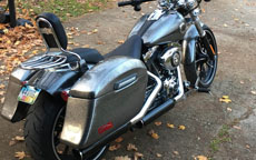 Jeff's '14 Harley-Davidson Softail Break Out w/ Hard Primered Saddlebags