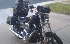 Jeff's '16 Harley-Davidson Dyna Low Rider w/ Sissy Bar Bags