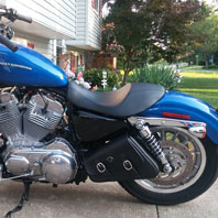 joe maganja 07 harley sportster 883 low