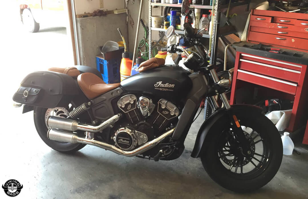 Indian Scout Universal SS Side Pocket Motorcycle Saddlebags ...