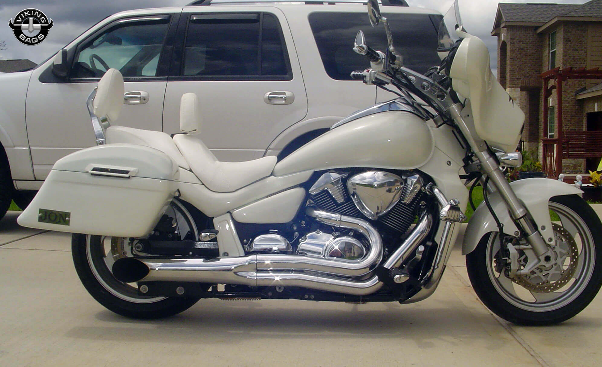 Suzuki Boulevard Saddlebags. Shop Bags for Suzuki Boulevard