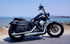 Josh's '16 Harley-Davidson Dyna Street Bob w/ Odin Series Leather Saddlebags