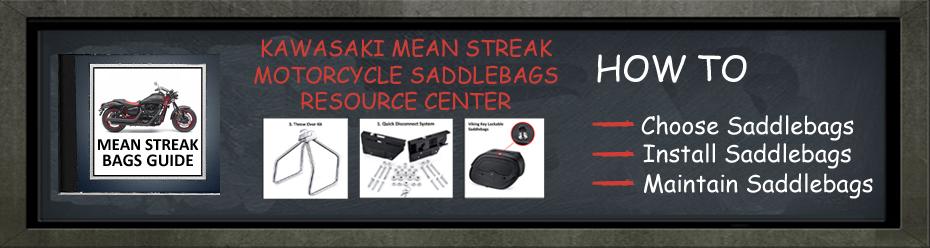 Kawasaki Mean Streak Motorcycle Saddlebags Resource Center