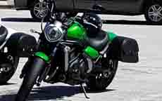 Kenneth's Kawasaki Vulcan S w/ Warrior Series Saddlebags