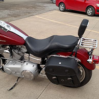 Kendall's '07 Harley-Davidson Super Glide w/ Odin Series Motorcycle Saddlebags