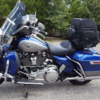 larry scarberry 17 harley-davidson road king