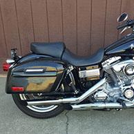 Lester's '10 Harley-Davidson Dyna Super Glide w/ Lamellar Hard Saddlebags