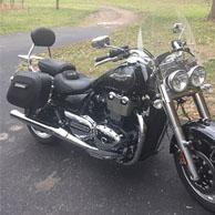 Matthew's '14 Triumph Thunder Bird w/ Lamellar Hard Series Motorcycle Saddlebags