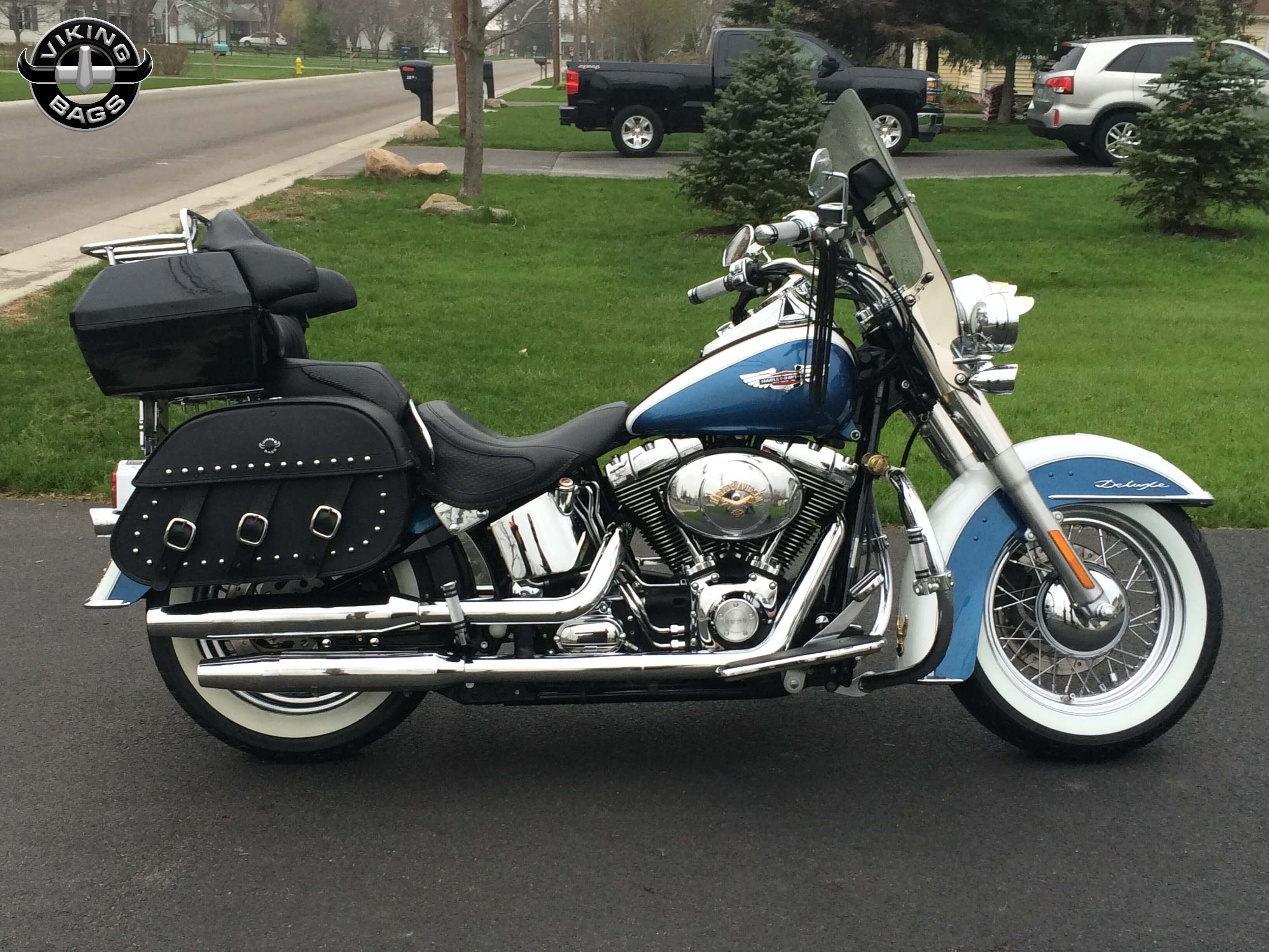 softail saddlebags shop bags for harley davidson softail. Black Bedroom Furniture Sets. Home Design Ideas